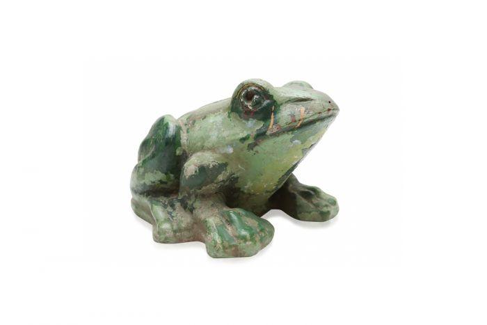 Stone Frog Sculpture - 1970s
