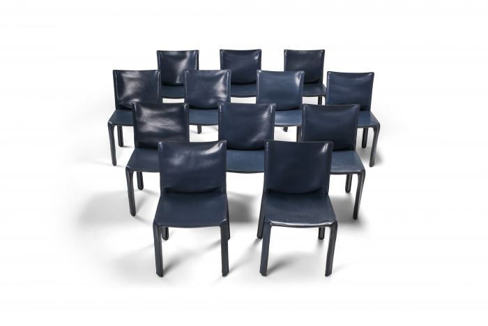 Cassina Blue CAB Chairs - 1970's