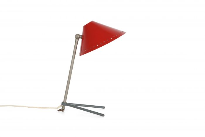 Pinocchio Lamp Red by Hala Zeist - 1950s