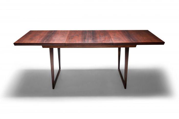 Danish Modern Design Rosewood Dining Table Kai Kristiansen - 1960's