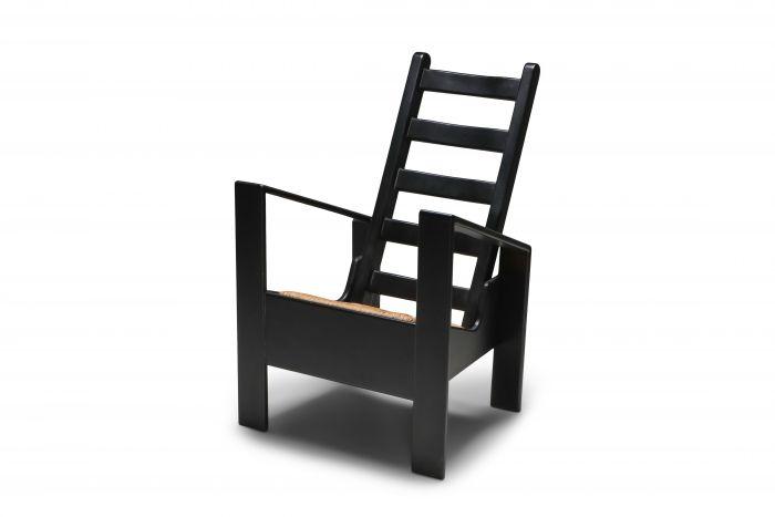 Macintosh Style Easy Chair - 1970s
