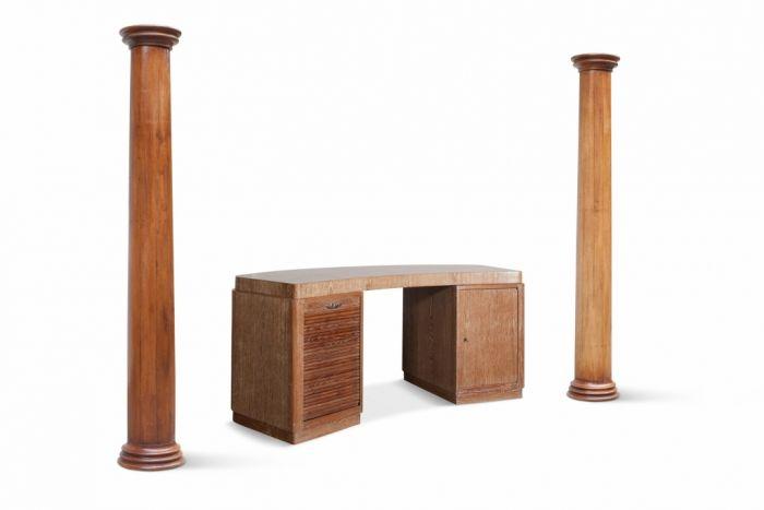 Oak Columns - Early 20th Century