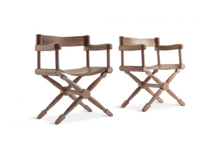 Paul Rodocanachi Art Deco 'Rodo' Chairs for Jean-Michel Frank - 1930s