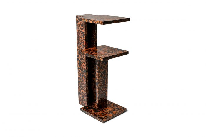 André Sornay Postmodern Style Side Table - 1980s