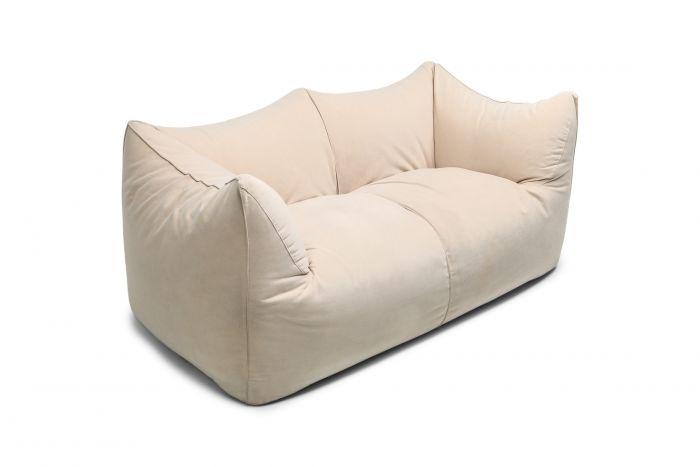 Mario Bellini 'Le Bambole' Two-Seat Couch in Alcantara - 1970s
