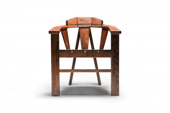 Walnut Craftsman Chair - 1960s
