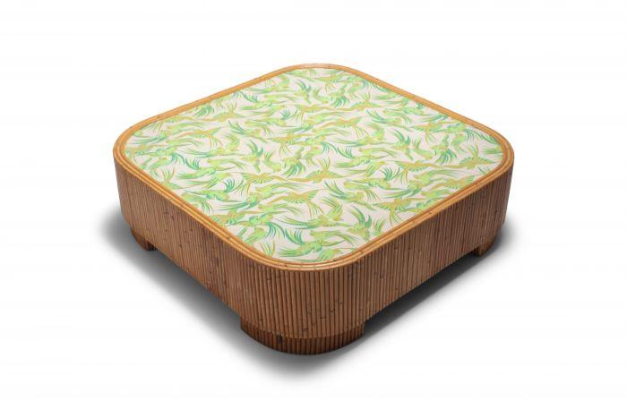 Bamboo coffee table Vivai del Sud - 1970s