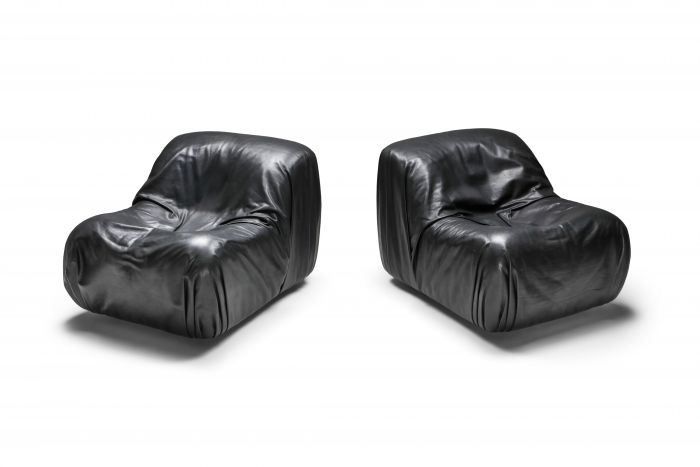 De Sede DS 41 Lounge Chair in High Quality Black Leather - 1970's