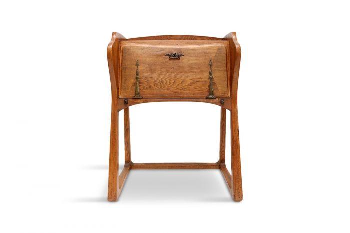 Antique Oak Arts & Crafts Secretaire - 1910s