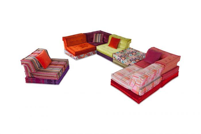 Mah Jong Modular Composition Sofa in Missoni Home for Roche Bobois - 2017