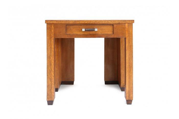 Rare Wooden Constructivist Desk - 1910s