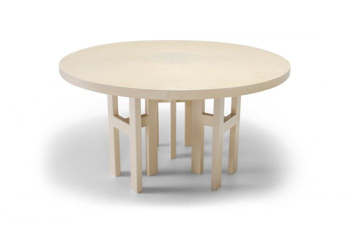 Jean Claude Dresse Exceptional Resin Dining Table - 1970s