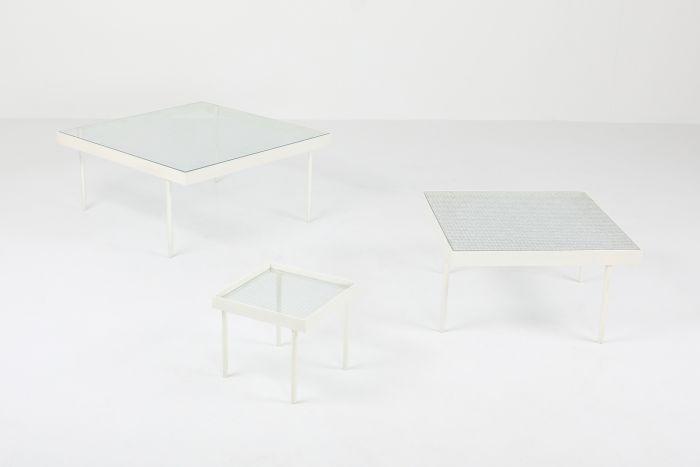 Janni Van Pelt Side Table Set - 1950's