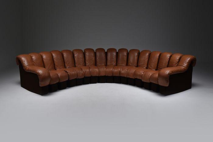 De Sede 'Snake' DS 600 Sectional Sofa - 1972