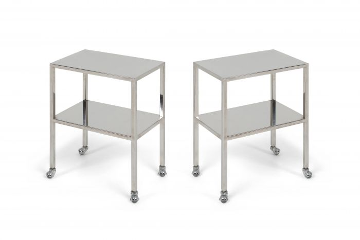 Industrial Chrome Trolley by Philippe Starck - 1990s