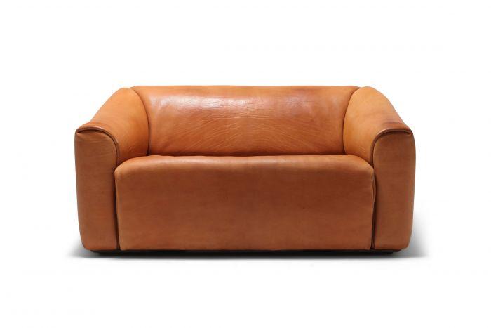 De Sede DS 47 Cognac Leather Sofa - 1970s