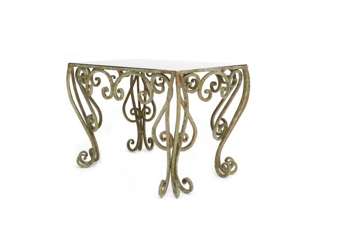 Wrought Iron Coffee Table - 1960s