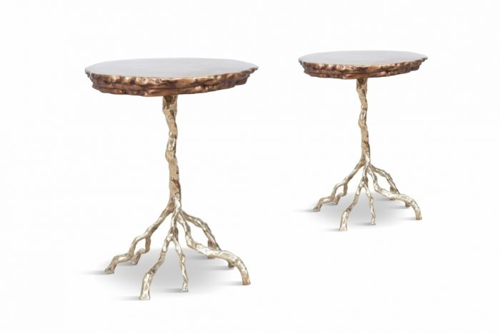 Bronze Root Side Table - 2010s