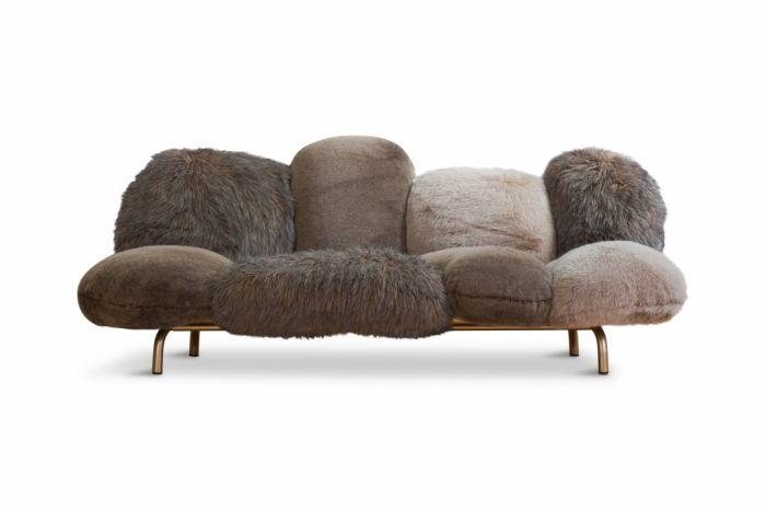 Contemporary Edra Cipria Sofa, Fernando And Humberto Campana - 2016