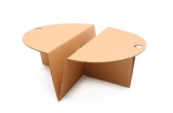Eco-Design Cardboard Coffee Table, Olivier Leblois - 1993