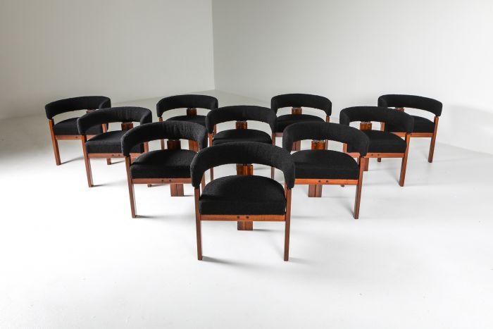 Ettore Sottsass Armchairs for Poltronova - 1970's