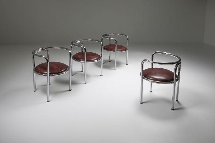 Gae Aulenti 'Locus Solus' Armchair for Zanotta, Set of Four - 1964