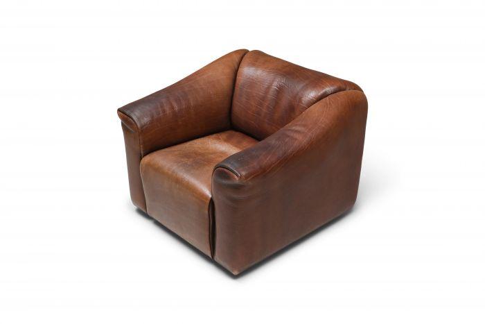 De Sede DS 47 Brown Leather Armchair - 1970s