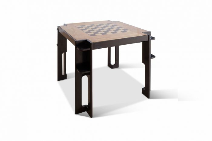 Italian Modernist Square Gaming Table — 1930's