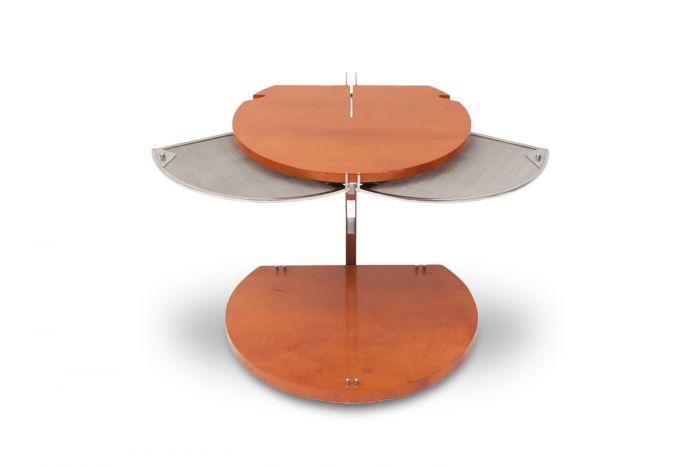 Walnut Side Table Fly, Jamie Tresserra - 1992