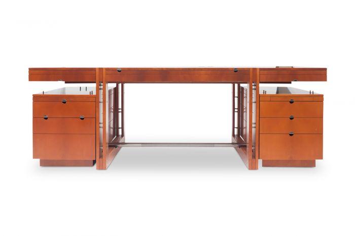 Rare Walnut & Oak Target Desk, Jaime Tresserra - 1988