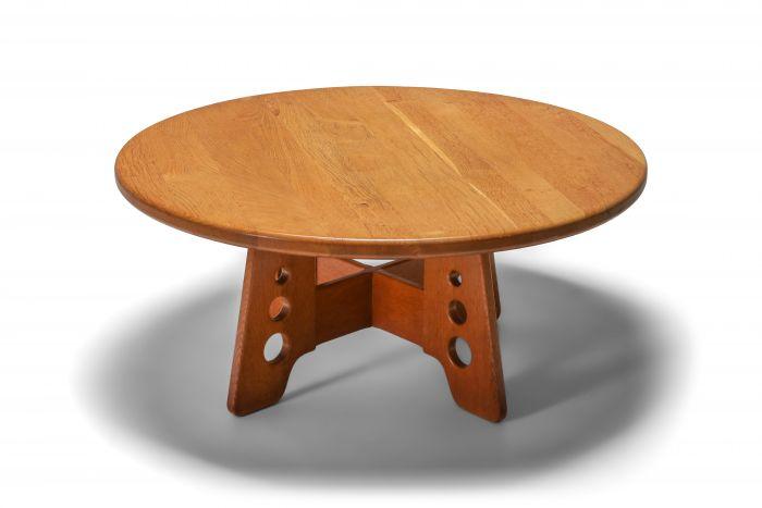 Gilbert Marklund Oak Coffee Table - 1960s
