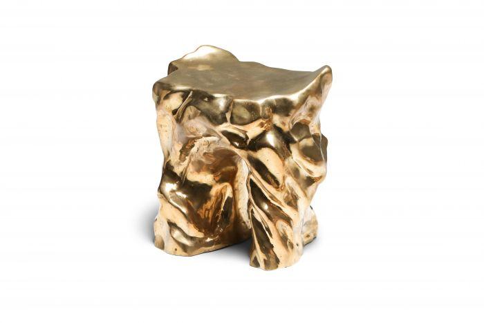 Bronze Lava Stool - 2010