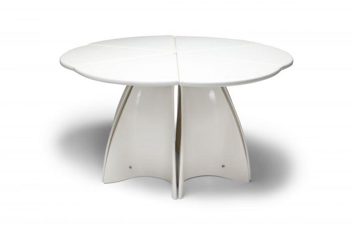 Fabio Lenci post-modern 'petal' dining table - 1960's