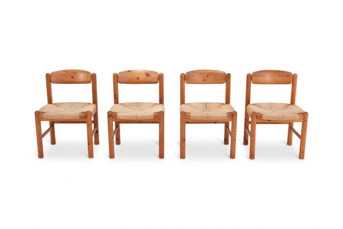 Rainer Daumiller Dining Chairs in Solid Pine - 1970s