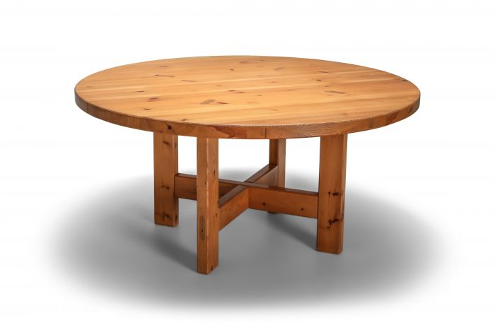 Roland Wilhelmsson Solid Pine Dining Table for Karl Anderson & Söner, Sweden - 1960's