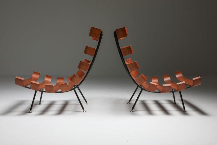 Eisler and Hauner 'Costela' Lounge Chairs - 1960's
