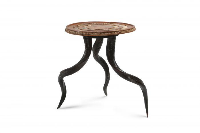 Carlo Bugatti Style Occasional Table - 1920s