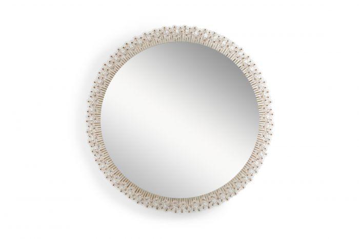 Emil Stejnar Extra Large Back Lit Mirror - 1960s