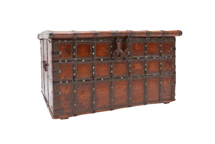 Antique Wooden Chest - 18th Century