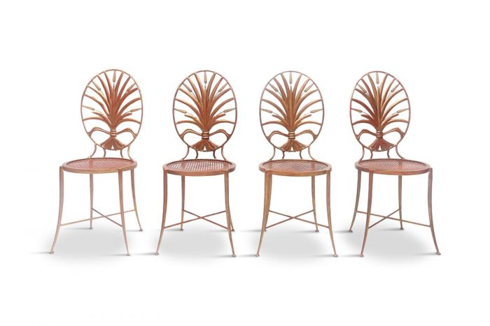 Gilt Chairs, Coco Chanel - 1970s