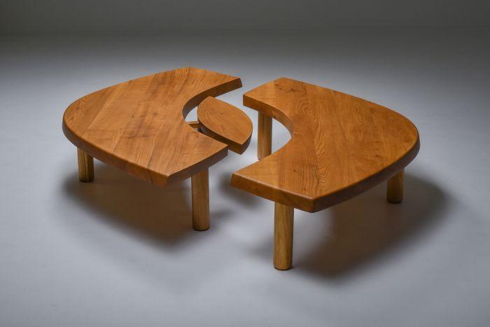 Pierre Chapo Coffee Table 'T22C' - 1972