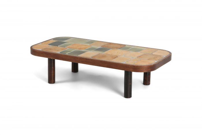 Roger Capron 'Shogun' Ceramic Coffee Table - 1960s