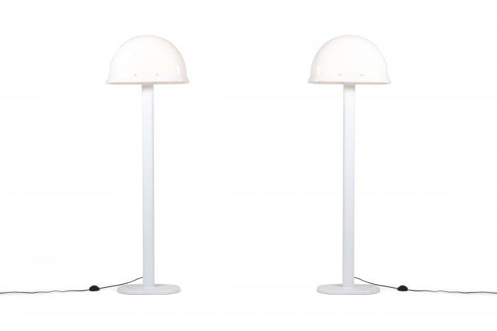 Rodolfo Bonetto 'Ventaglio' floor lamps by I Guzzini - 1970s