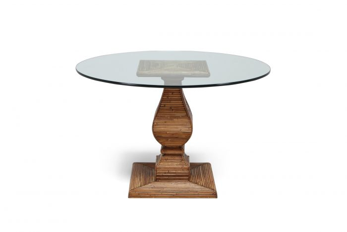 Vivai Del Sud Dining Table In The Style Of Gabriella Crespi - 1970s