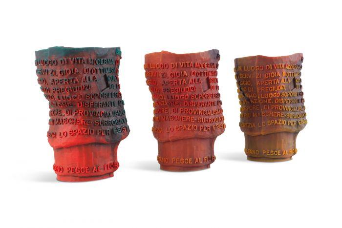 Multicoloured Resin Collectible Vessels, Gaetano Pesce - 1990s