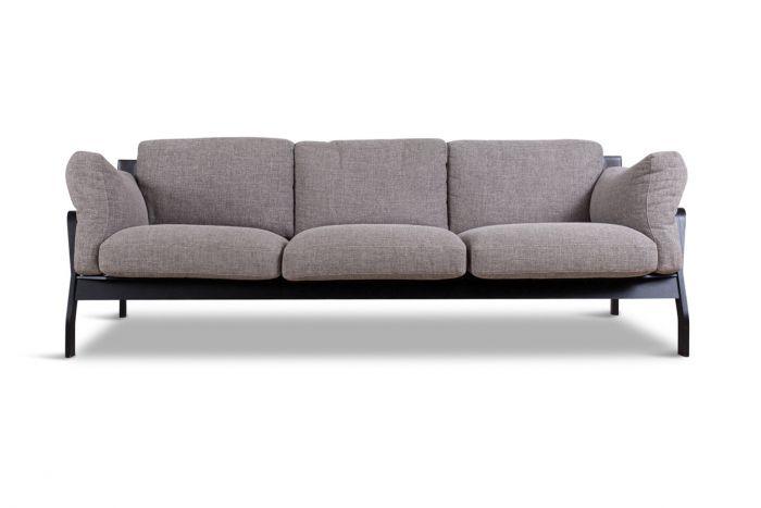Leather Cassina 3 Seater Sofa, Rodolfo Dordoni - 2000s