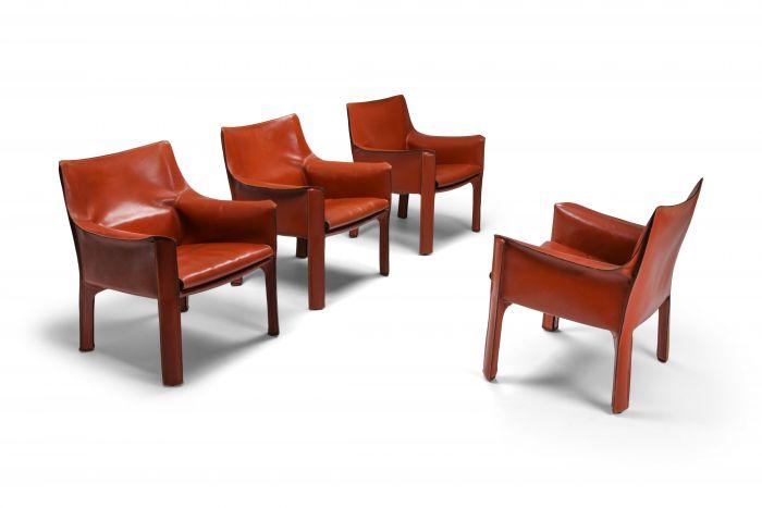 Mario bellini's CAB armchair 414 - 1980s