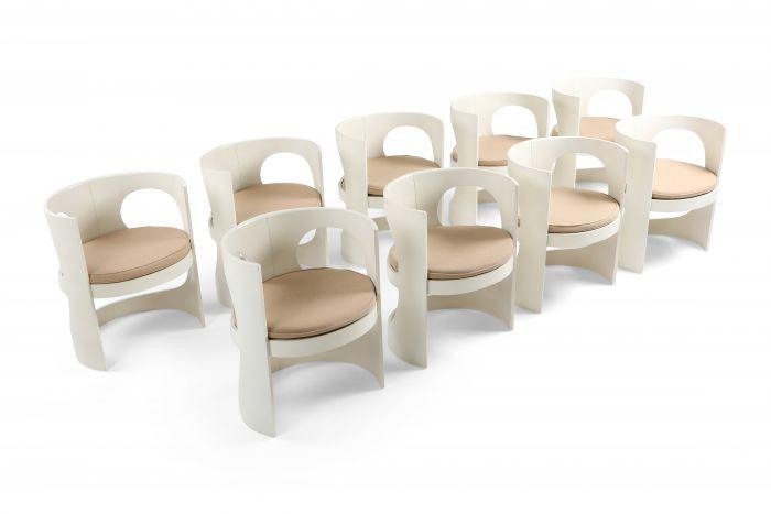 Scandinavian Modern Pre Pop Armchair by Arne Jacobsen for Asko - 1970s
