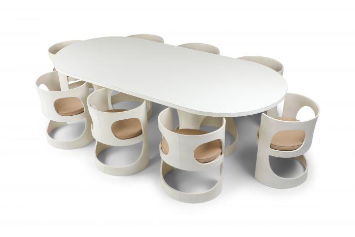 Arne Jacobsen Pre Pop Dining Set for Asko - 1969