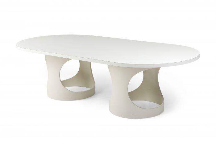 Arne Jacobsen Pre Pop Dining Table for Asko - 1969